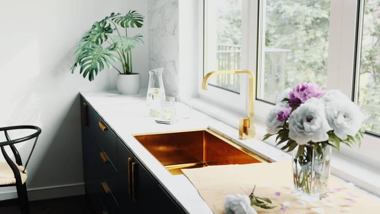 GN İÇ MİMARLIK OFİSİ – swiden mutfak: modern tarz Mutfak
