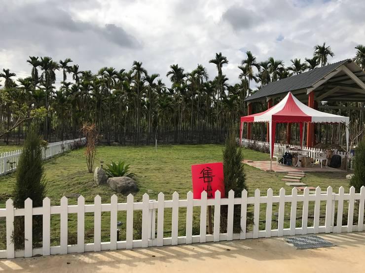 Casas de estilo  por 綠藝營造
