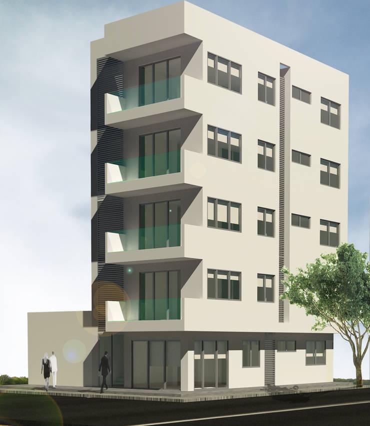 Edificio Reinemer: Casas de estilo  por Grupo Moix SAS