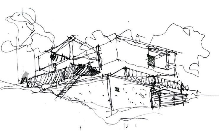 Edificio de Vivienda en el Chicó:  de estilo  por MRV ARQUITECTOS