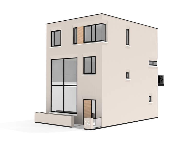 Impressie voor:  Huizen door 10voor2 Architecten, Modern