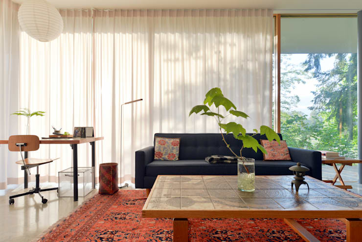 Phòng khách by NO Architecture