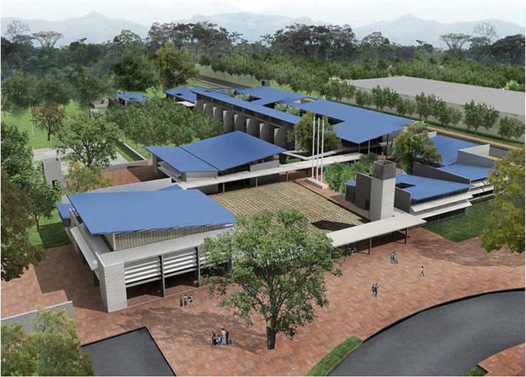 Colegio La Reliquia: Casas de estilo  por MRV ARQUITECTOS, Moderno