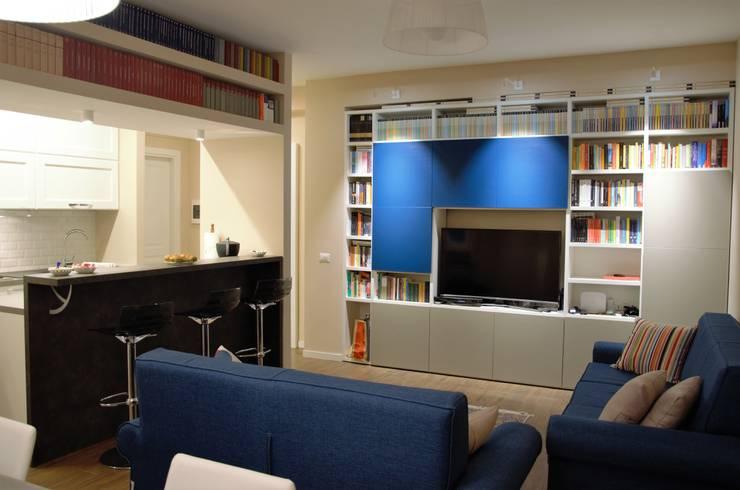غرفة المعيشة تنفيذ MBRstudio Architetti