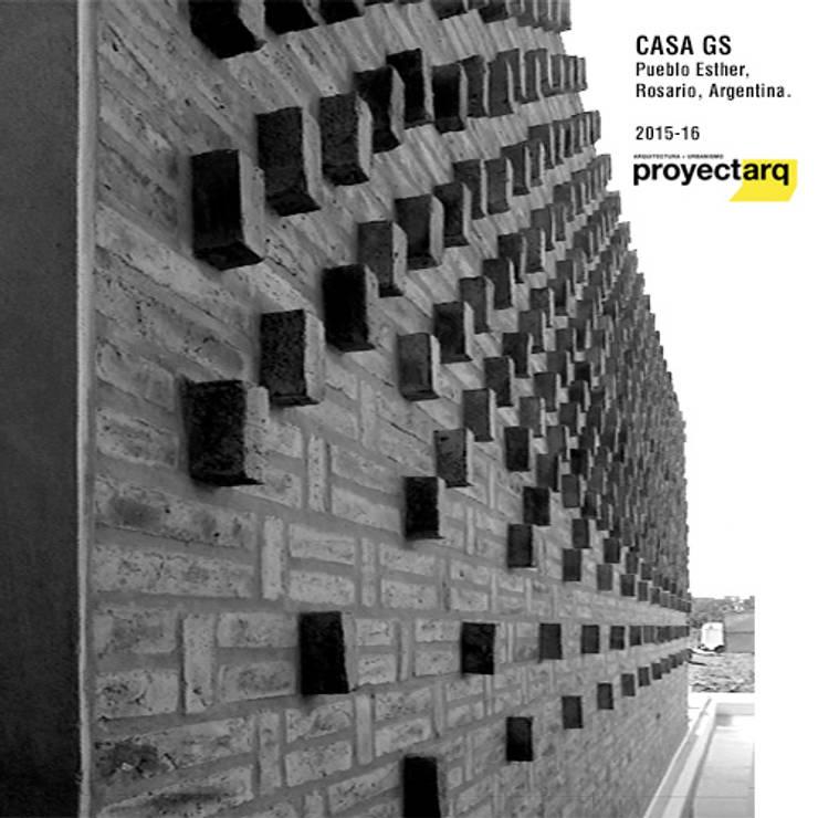 Casas de estilo  por Proyectarq