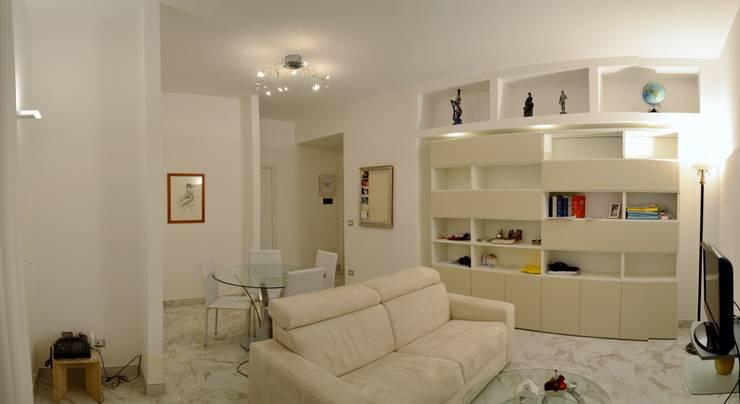 Projekty,  Salon zaprojektowane przez MBRstudio Architetti