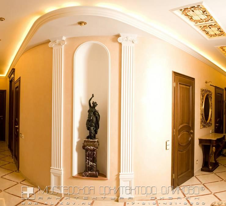 Hotéis  por Мастерская архитектора Аликова