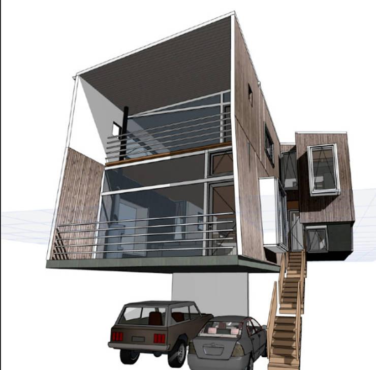 Cordova Arquitectura y Construcción .が手掛けた家