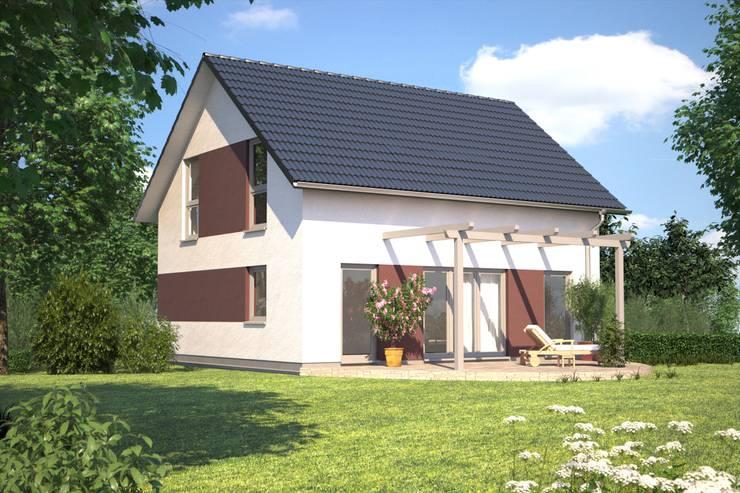 Maisons de style  par Bärenhaus GmbH - das fertige Haus
