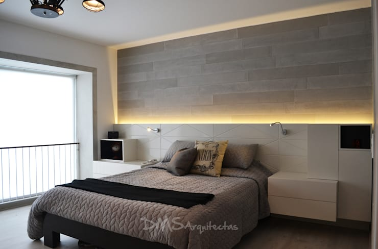 Bedroom by DMS Arquitectas