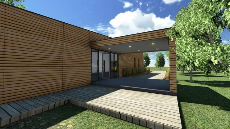 """Sede Vecinal """" La Viñilla"""": Casas de estilo  por CA Arquitectura"""