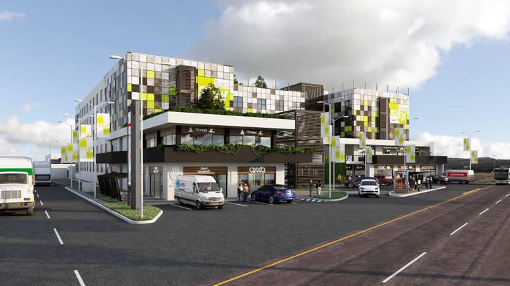 SITY: Centros Comerciales de estilo  por Bloque Arquitectónico
