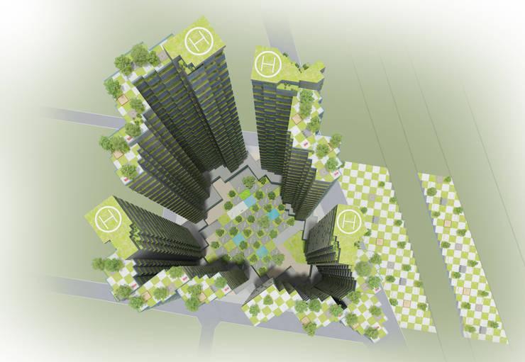 Nature Cube: Plan-B 건축 사무소의  호텔,