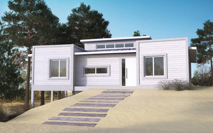 Maisons de style  par JOM HOUSES, Moderne Briques