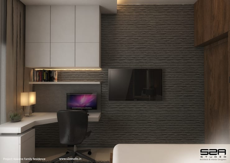Residential Apartment :  Study/office by S2A studio
