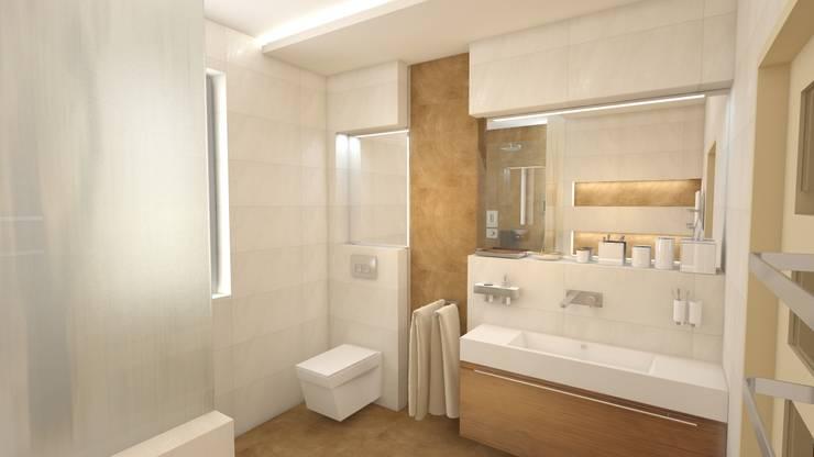 Dom Rybnik: styl , w kategorii Łazienka zaprojektowany przez INTUS DeSiGn,