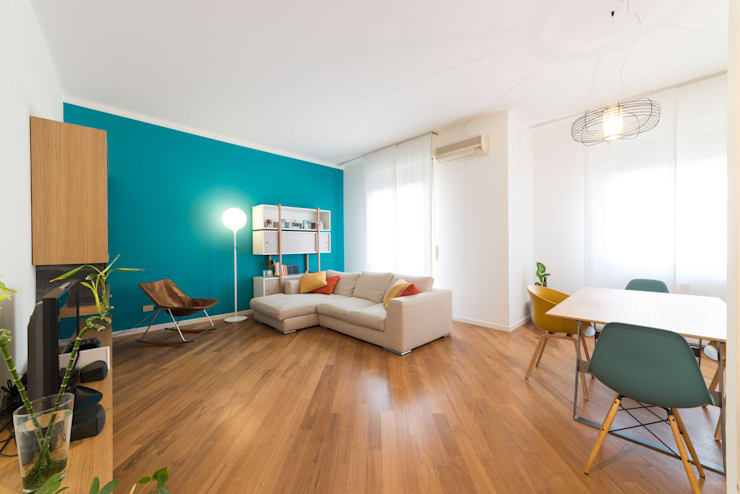 Salon de style de style Moderne par Amodo