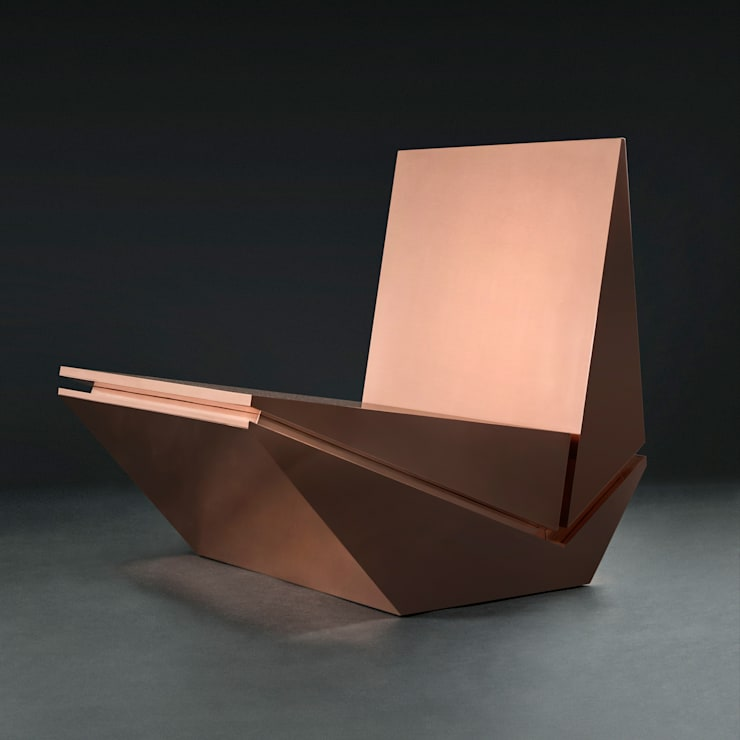 Poltrona Zózimo: Arte  por Estúdio Ronald Sasson