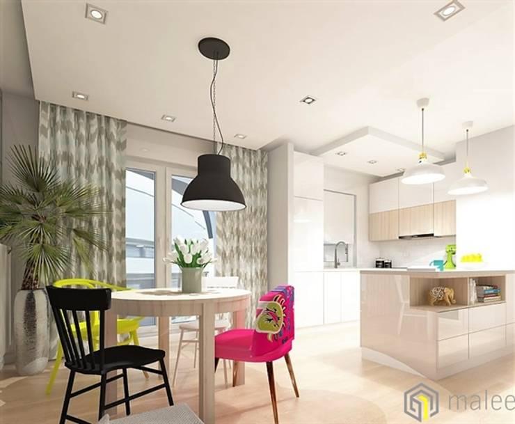 Apartament CHMIELNA Gdańsk: styl , w kategorii  zaprojektowany przez malee