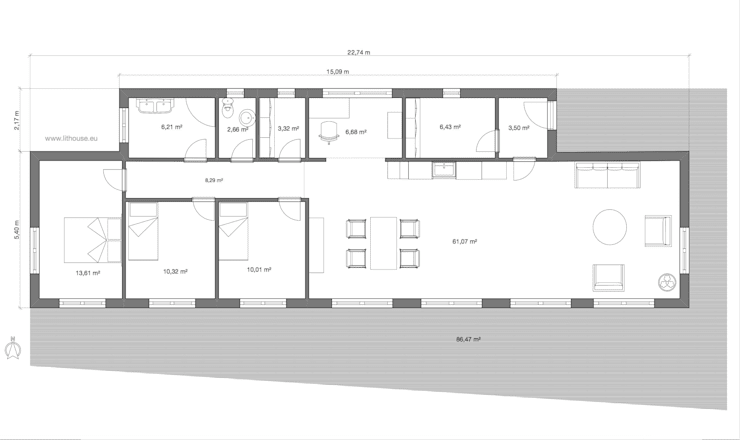 Floor Plan:   by Namas