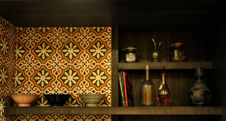Mittal Residence, Colaba, Mumbai :  Kitchen by Inscape Designers ,Eclectic