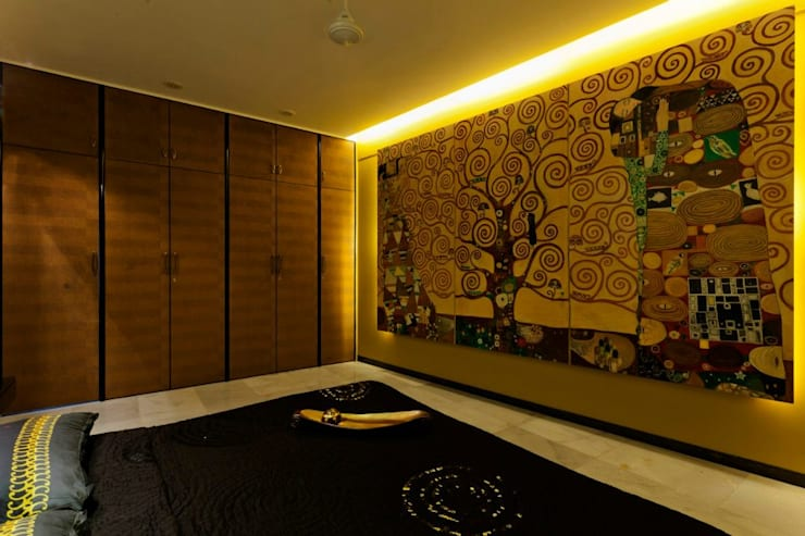 Mittal Residence, Colaba, Mumbai : eclectic Bedroom by Inscape Designers