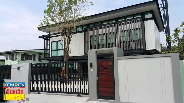 ฐานรากซุ้มประตูบ้าน คุณพสิฐพงศ์:   by บริษัทเข็มเหล็ก จำกัด