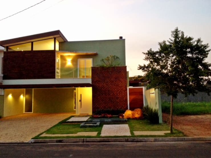 eclectic Houses by Caio Pelisson - Arquitetura e Design