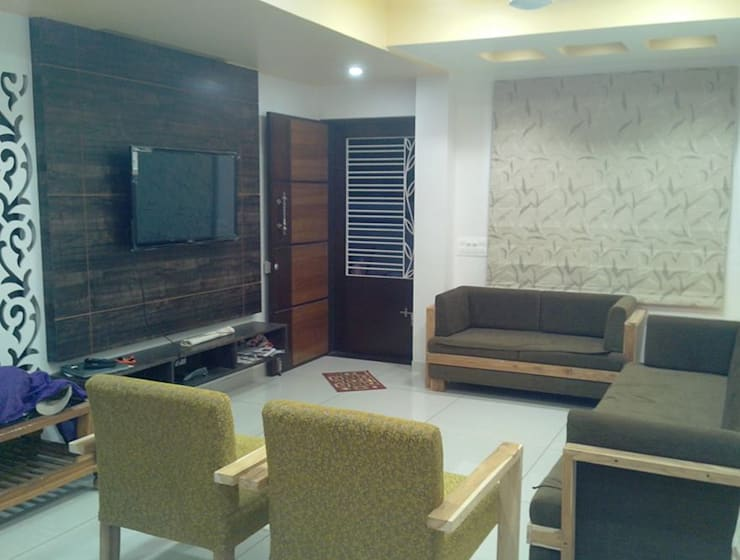 Living room by Swastik,