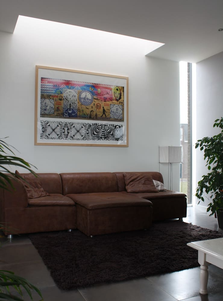 Livings de estilo  por Architectenbureau Jules Zwijsen , Moderno