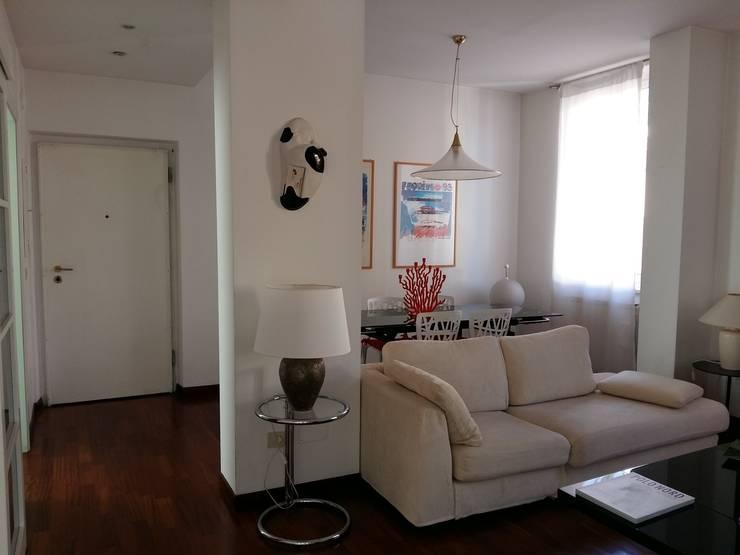 Projekty,  Salon zaprojektowane przez  Paolo Baldassarre Architetto