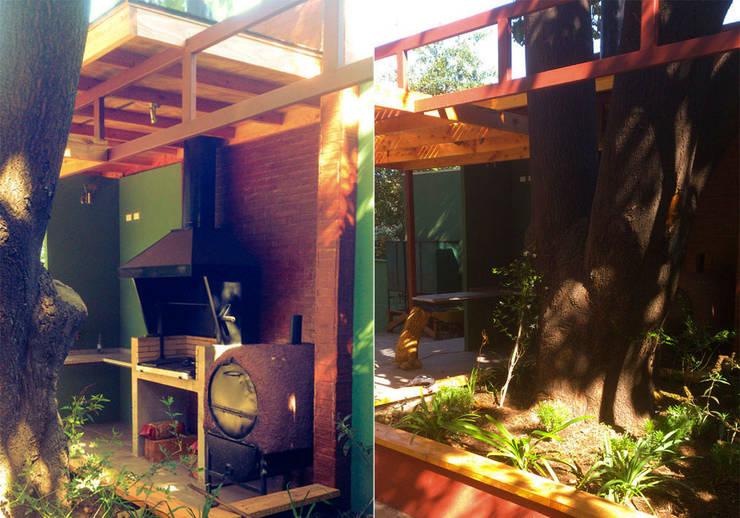 Vistas y detalles: Casas de estilo  por DIMA Arquitectura y Construcción