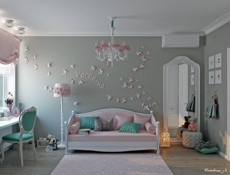 Детские комнаты в . Автор – Natali Vasilinka