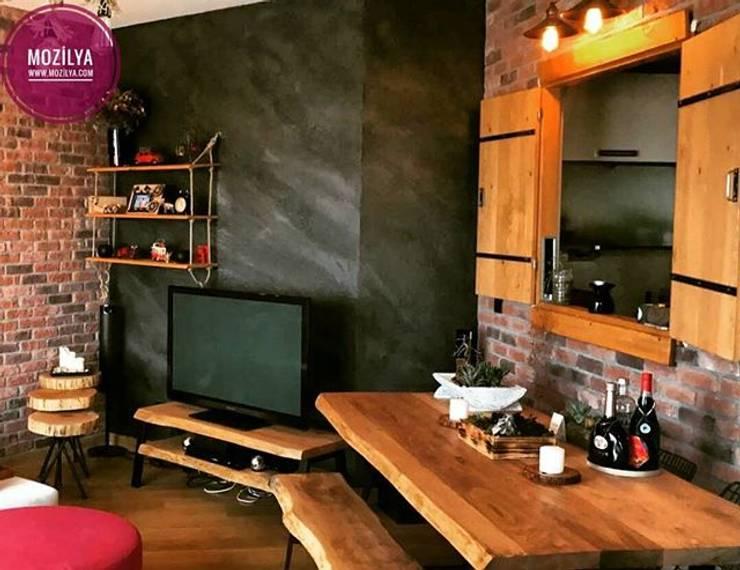 Mozilya Mobilya – Kestane Ağacı Yemek Masası :  tarz Yemek Odası