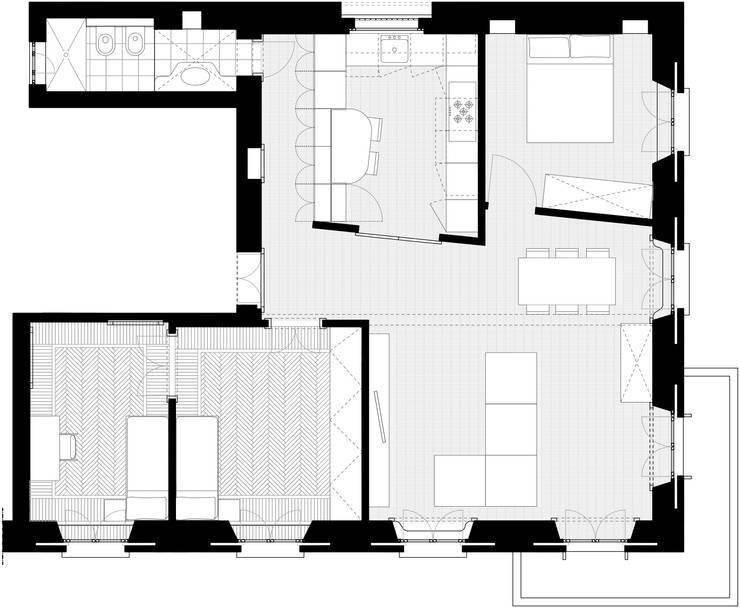 10 planimetrie di case a cui ispirarsi per progettare la for Progettare una casa
