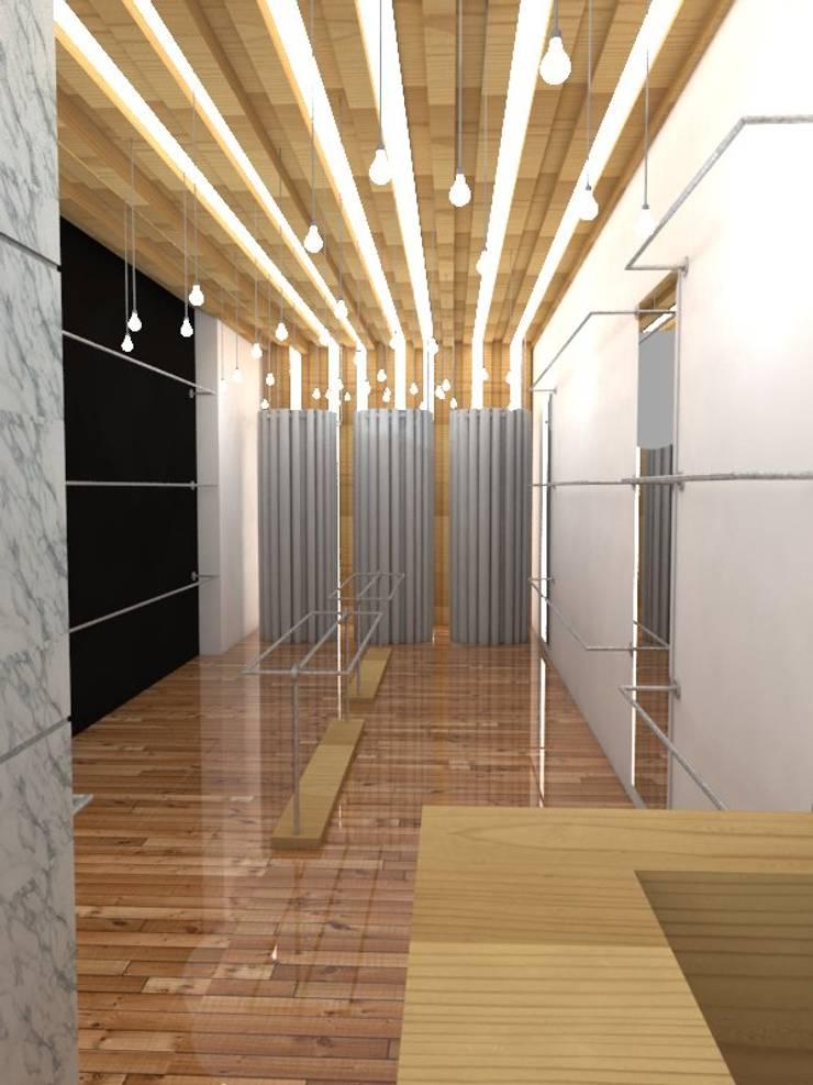Tiendas Boken - Inicio: Estudios y oficinas de estilo  por Proyectos JARQ,