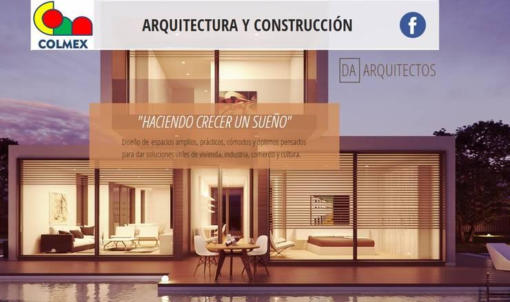 HACIENDO CRECER UN SUEÑO: Casas de estilo  por COLMEX ARQUITECTURA Y CONSTRUCCION, Moderno Concreto