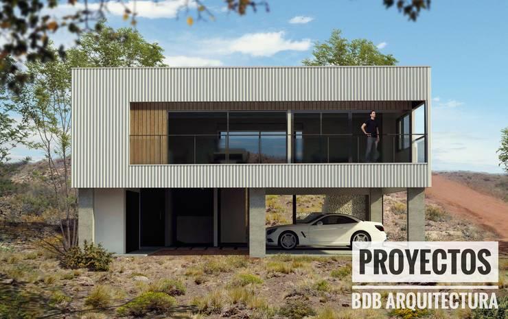 VIVIENDA CHOCON MEDIO:  de estilo  por BDB Arquitectura