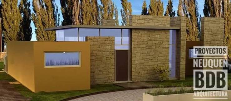 CASA BEST 60:  de estilo  por BDB Arquitectura