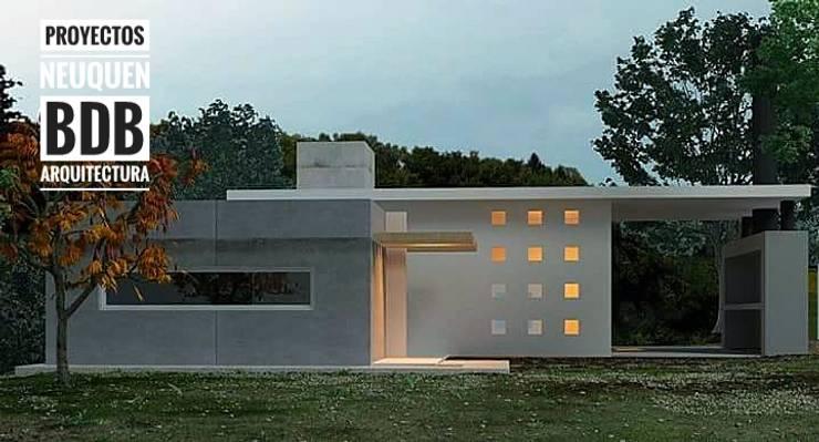 CASA SANTA II:  de estilo  por BDB Arquitectura