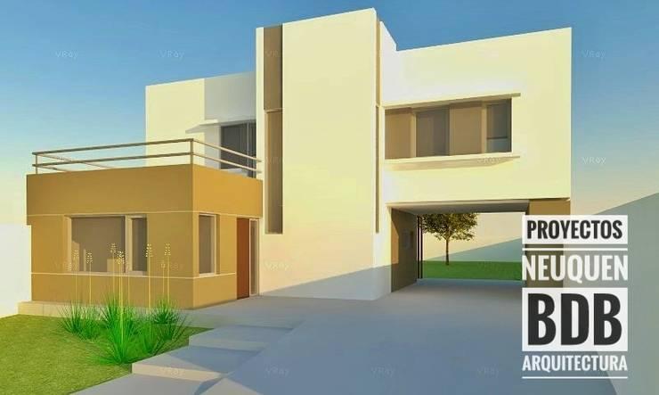 CASA VALE:  de estilo  por BDB Arquitectura