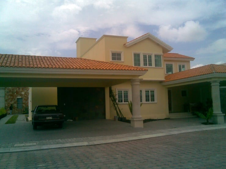 CASA F8 : Casas de estilo  por SG Huerta Arquitecto Cancun