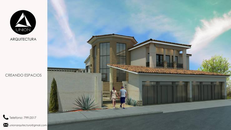 Residencia: Casas de estilo  por Union Arquitectura, Mediterráneo Concreto reforzado