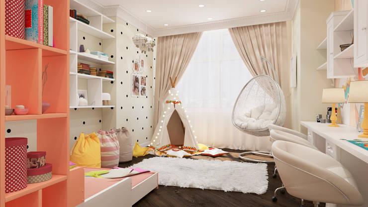 """ЖК """"Триколор"""": Детские комнаты в . Автор – Happy Design"""