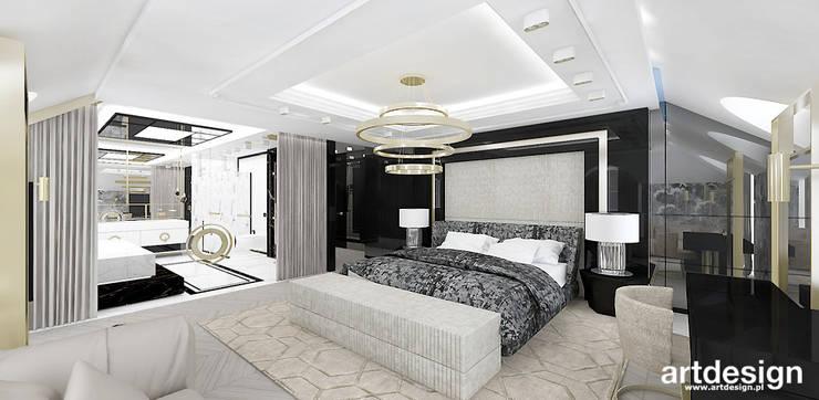 High Life Projekt Sypialni Z łazienką I Garderobą