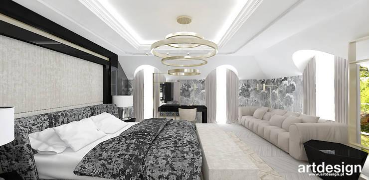 High Life Projekt Sypialni Z łazienką I Garderobą By
