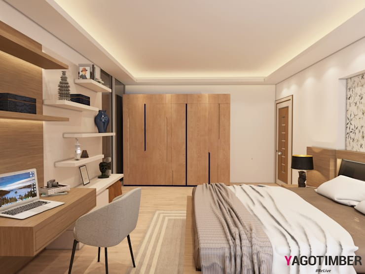 Bedroom Design Ideas - 2: minimalistic Bedroom by Yagotimber.com