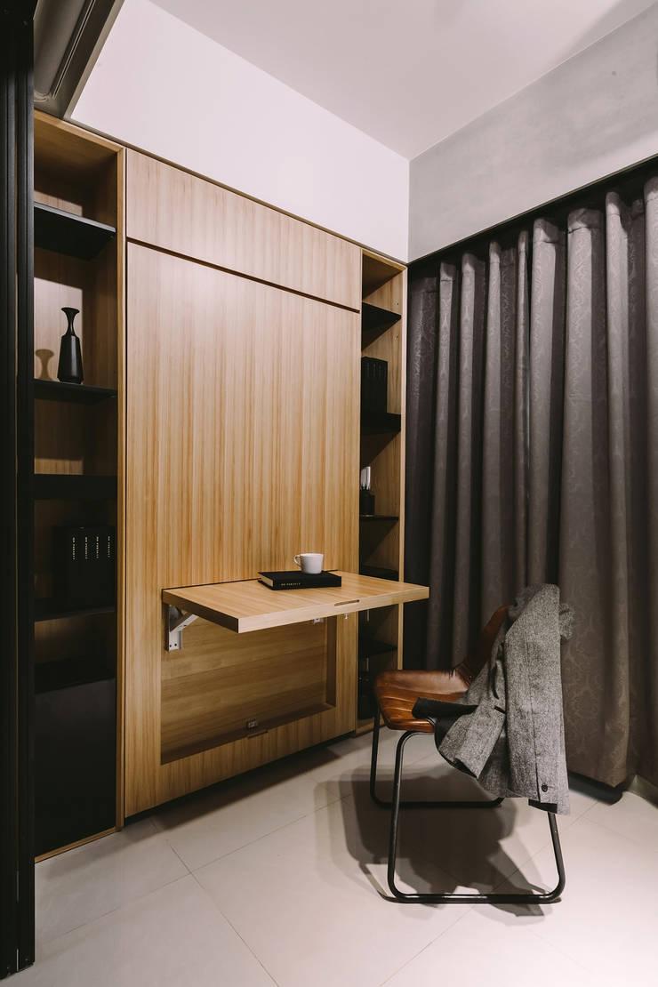 書房:  書房/辦公室 by 澄穆空間設計