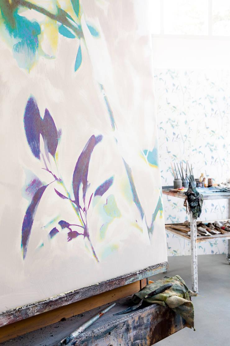 Wallpaper Glassy: modern  door BN International, Modern Papier