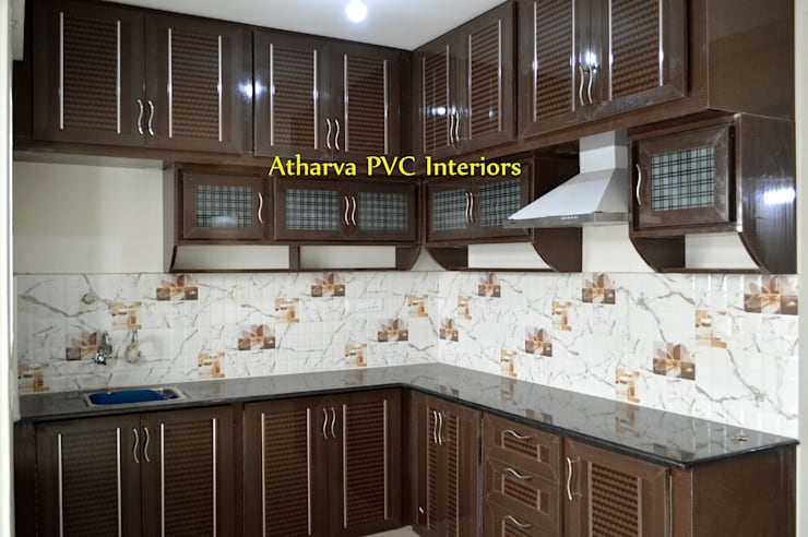 PVC Modular Kitchen: modern Kitchen by Atharva PVC Interiors